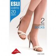 """Эластичные носочки ESLI. Corto"""" 20 Den"""