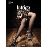 Чулки широкое кружево Intrigo 20 ден DAKAR