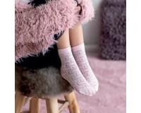 Детские носки белые ажурные Lop Knittex