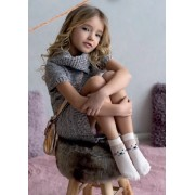 Детские носки белые с рисунком Xena Knittex