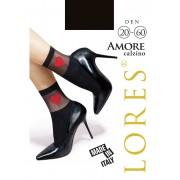 Носочки женские с сердечком Lores Amore
