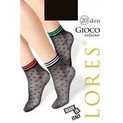 Носочки женские с рисунком Lores Gioco