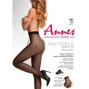 """Колготки без шортиків з утяжкой Annes """"Invisible"""" 30 den"""