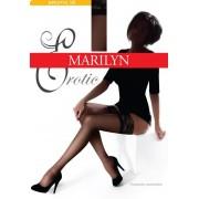 Чулки женские без рисунка 15 den Marilyn Erotic 15