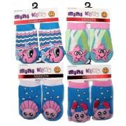 Носки с погремушкой для малышей mini Koko Terry 0-6 месяцев
