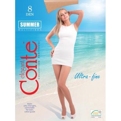 Колготки тонкие 8 den Conte Summer 8